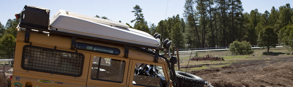 roof rack on land rover