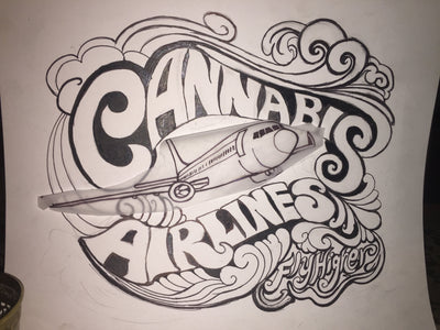 Designing the New Cannabis Airlines Artwork 🍃
