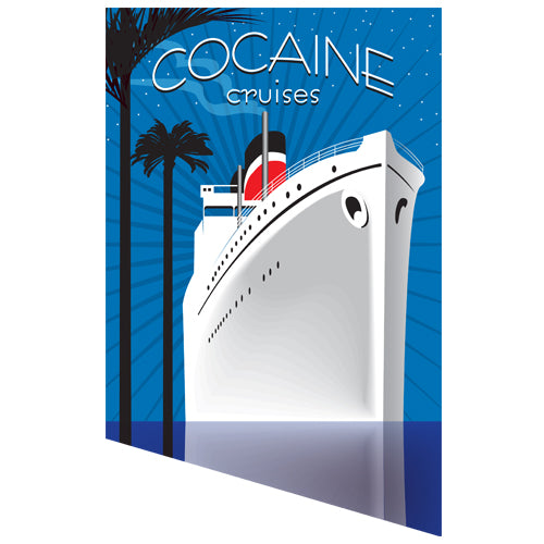 Cocaine Cruises Artwork JOAN SEED My Wearable Attitude