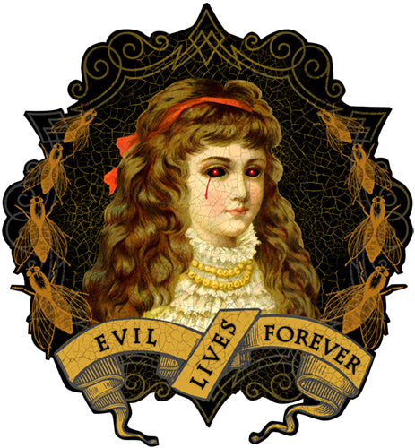 Evil Lives Forever Artwork JOAN SEED My Wearable Attitude