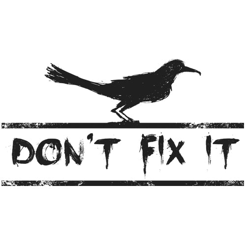 Don't Fix It Artwork JOAN SEED My Wearable Attitude