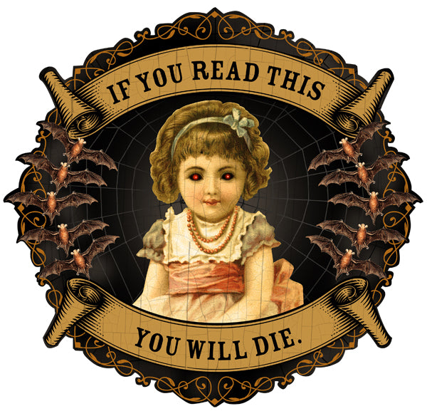 If You Read This You Will Die Artwork JOAN SEED My Wearable Attitude