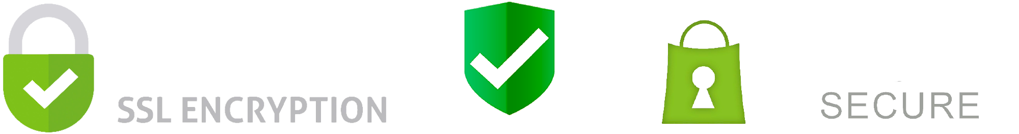 Shopify secure SSL Encryption AES 256bit badge