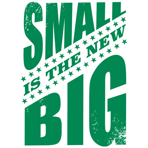 Small is The New Big Artwork JOAN SEED My Wearable Attitude