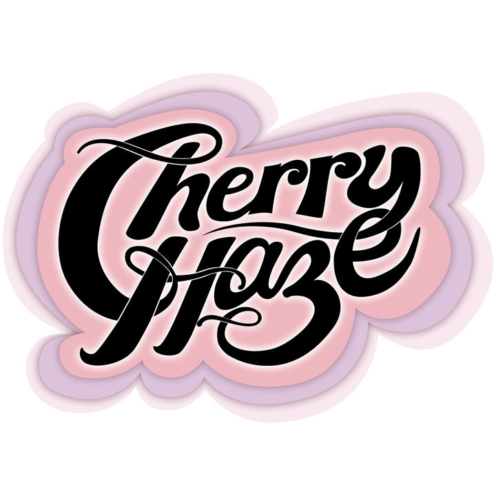 Cherry Haze calligraphy artwork from the stupid collection at joan seed grows anywhere