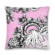 JOAN SEED Home Decor Lazy Whore Decorative Print Pillow