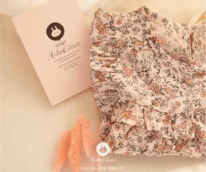 Woodland Bambi Dress, Arim Closet - BubbleChops LLC