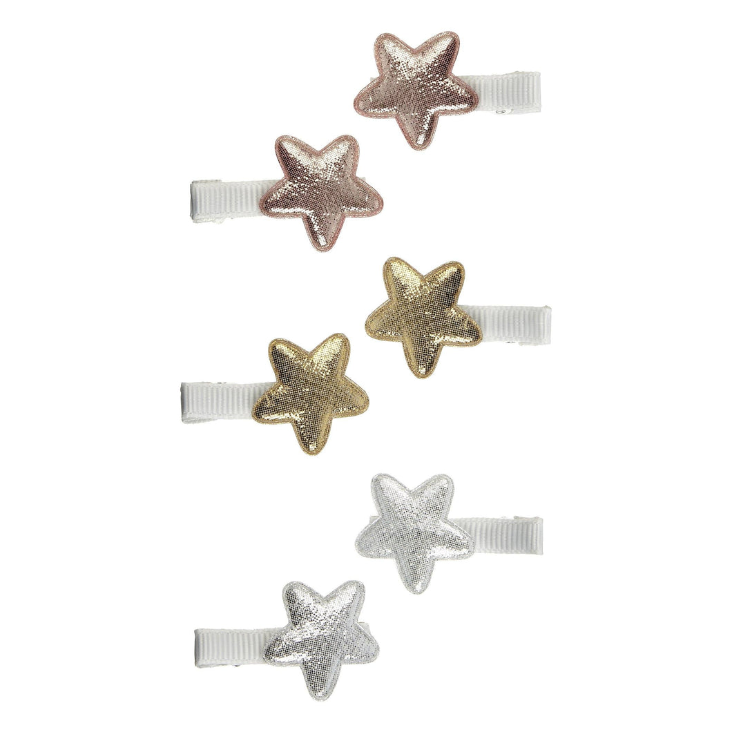 Mini Super Star Salon Clips (Set of 6), Mimi and Lula - BubbleChops LLC