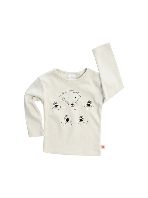 Bear Graphic T-shirt, Tinycottons - BubbleChops LLC