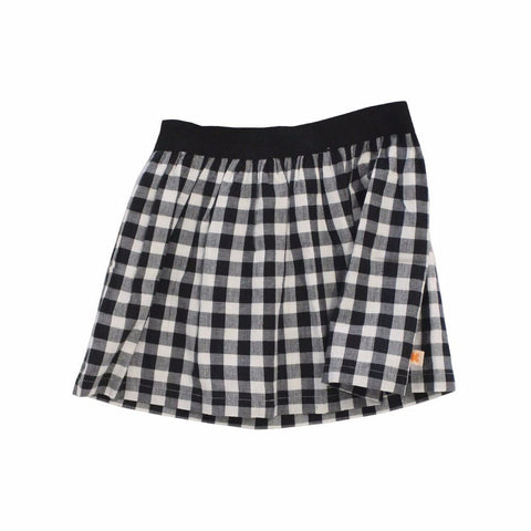 Tinycottons - Black & White Check Skirt, Tinycottons - BubbleChops LLC