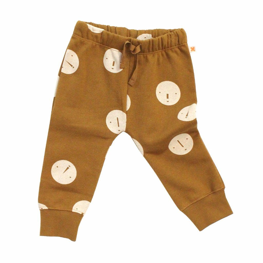 Faces Unisex Sweatpants, Tinycottons - BubbleChops LLC