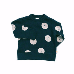 Faces Unisex Sweatshirt, Tinycottons - BubbleChops LLC
