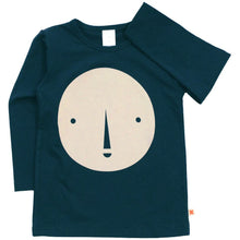 Round Face Graphic T-shirt, Tinycottons - BubbleChops LLC