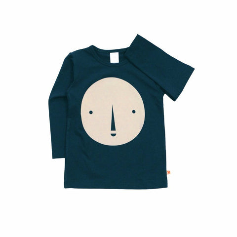 Tinycottons - Round Face Graphic T-shirt, Tinycottons - BubbleChops LLC