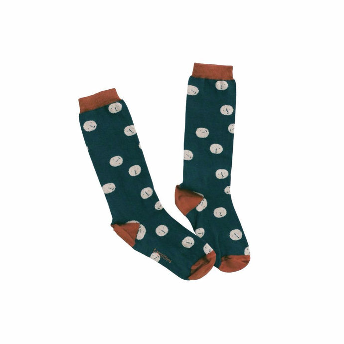 Faces High Socks, Tinycottons - BubbleChops LLC