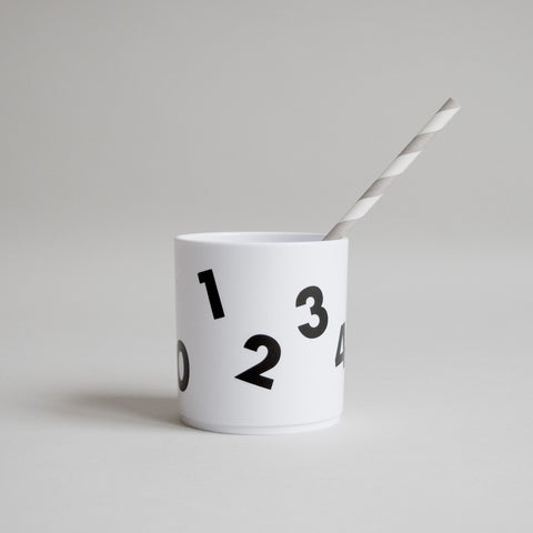 Buddy and Bear - Numbers Tumbler (White Edition) - BubbleChops - 1