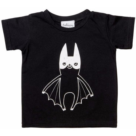 Tobias & the Bear - Super Batty Tee, Tobias & the Bear - BubbleChops LLC