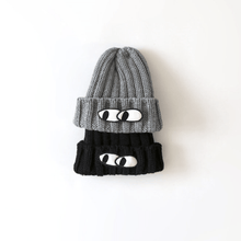 Chunky Knit Eyes Hat, Hetzebebe - BubbleChops LLC