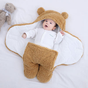 Bear Fleece Swaddle