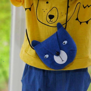 Bear Toddler Bag (Blue), Mini Dressing - BubbleChops LLC