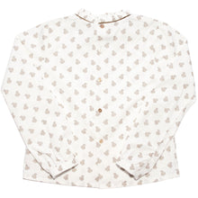 Squirrel Print Blouse, Plumeti Rain - BubbleChops LLC