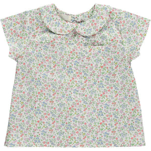 Dinah Meadowsweet Shirt (Liberty of London Fabric), Olivier Baby & Kids - BubbleChops LLC