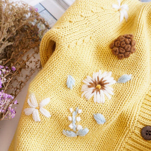 Vintage Style Floral Cardigan (3 colours available)