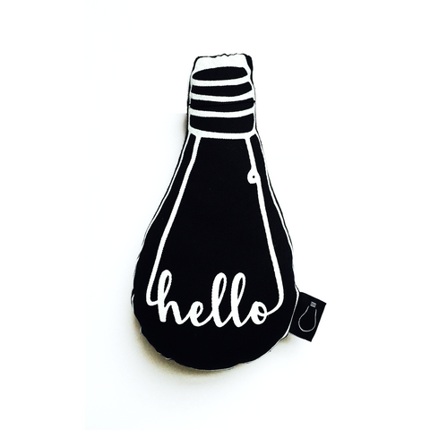 Hello Bulb Cushion - BubbleChops - 1