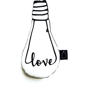 Love Bulb Cushion, Bulb London - BubbleChops LLC