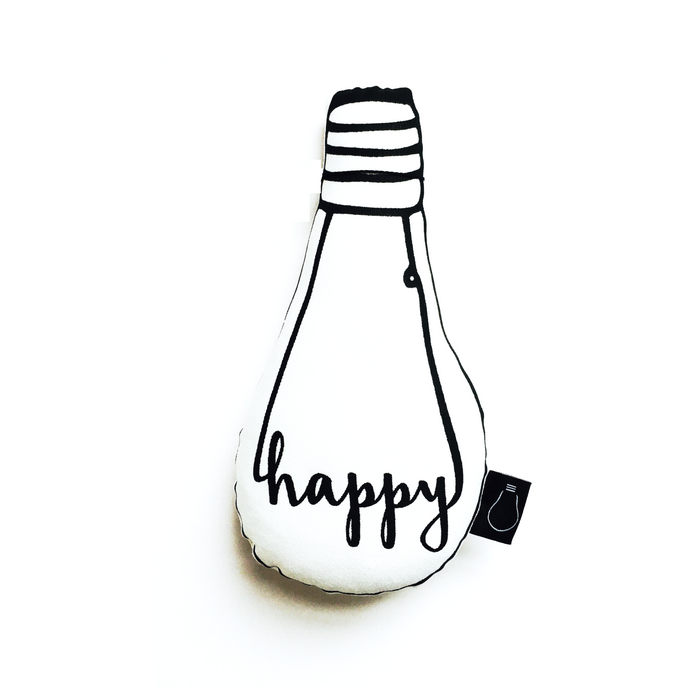 Happy Bulb Cushion, Bulb London - BubbleChops LLC