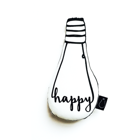 Happy Bulb Cushion - BubbleChops - 1