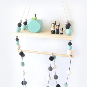 Handmade Wood Display Shelf, Friend of BubbleChops - BubbleChops LLC