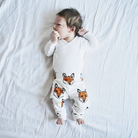 Tobias & the Bear - Just Call Me Fox Leggings - BubbleChops - 2