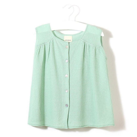 Knit Planet - Daydream Blouse (Mint), Knit Planet - BubbleChops LLC