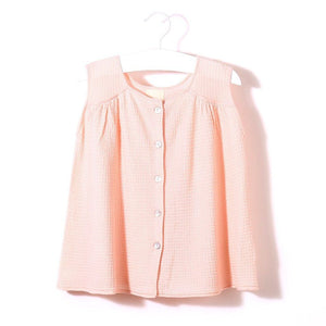 Daydream Blouse (Pink), Knit Planet - BubbleChops LLC