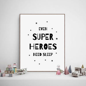 Superhero Art Prints, Friend of BubbleChops - BubbleChops LLC