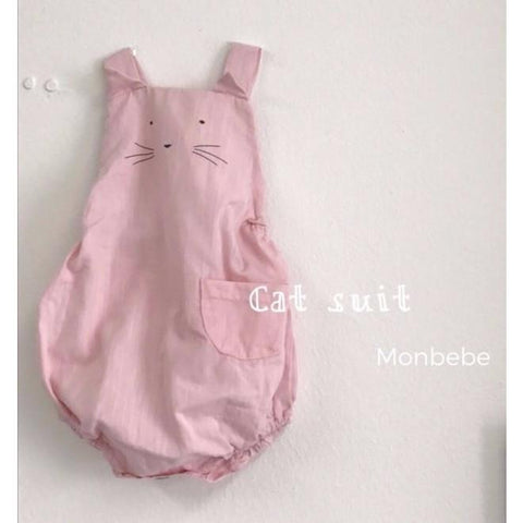 Monbebe - Kitty Romper (Pink)
