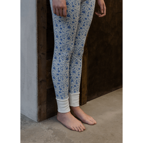 Sleepy Doe - Dancing Floral Mama Leggings, Sleepy Doe - BubbleChops LLC