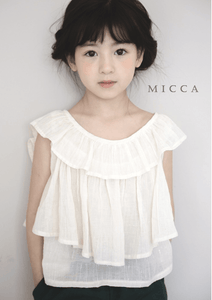 Tiered Ruffle Blouse, Micca - BubbleChops LLC