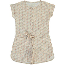 Peacocks Playsuit (Liberty of London), Olivier Baby & Kids - BubbleChops LLC