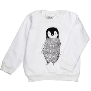Percy the Penguin Sweatshirt, Tobias & the Bear - BubbleChops LLC