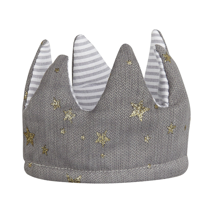 Queen Mimi Reversible Crown - Grey, Mimi and Lula - BubbleChops LLC