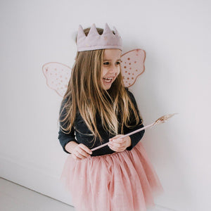 Queen Mimi Reversible Crown - Pink, Mimi and Lula - BubbleChops LLC