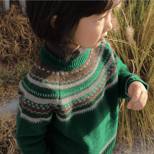 Riley Sweater, Amber - BubbleChops LLC