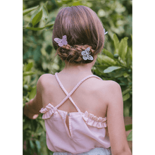 Rose Top, Plumeti Rain - BubbleChops LLC