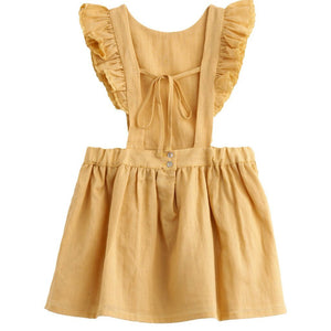 Mustard Dress, Tocoto Vintage - BubbleChops LLC