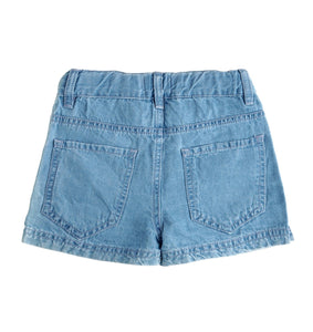 Retro Denim Shorts, Tocoto Vintage - BubbleChops LLC