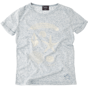 T-Shirt with Treasure Print, Tocoto Vintage - BubbleChops LLC