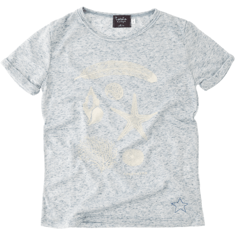 Tocoto Vintage - T-Shirt with Treasure Print