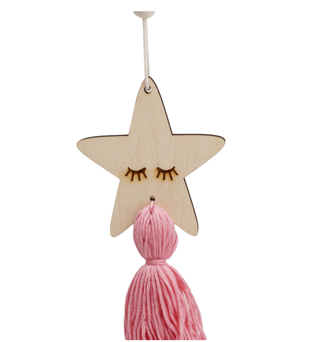 Decorative Pendant - Star / Kitty, Friend of BubbleChops - BubbleChops LLC
